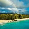 Rainbow over Olomana