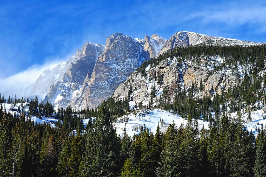 Flattop Mountain in January