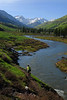 Lower Loop trail, Crested Butte.