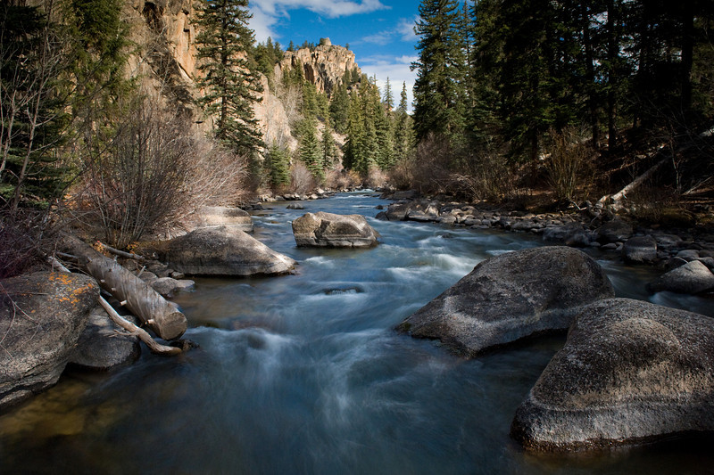 The Taylor River on November 1st, Gunnison County, Colorado