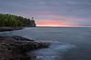 Split Rock Lighthouse sunrise