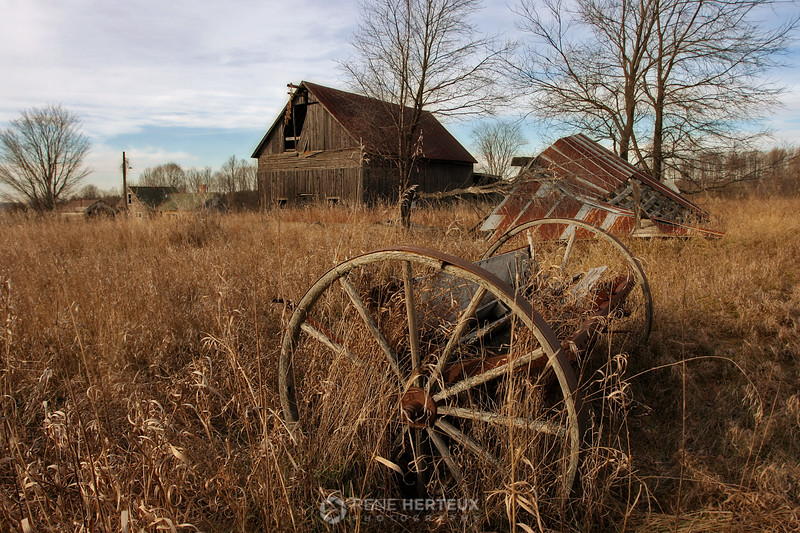 Abandoned farm, Somewhere in WI