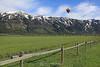 Balloon at Teton Village