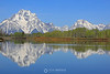 Tetons reflection