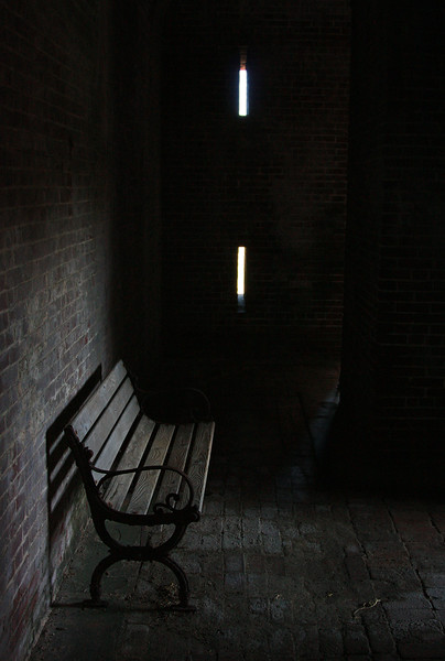 Lonely bench - Fort Jefferson