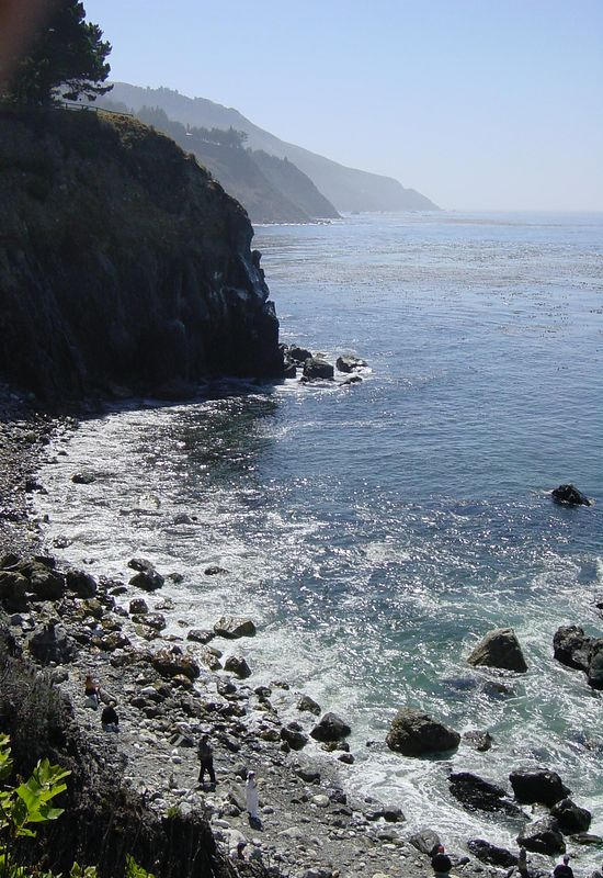 Esalen, Big Sur, CA. 2002.