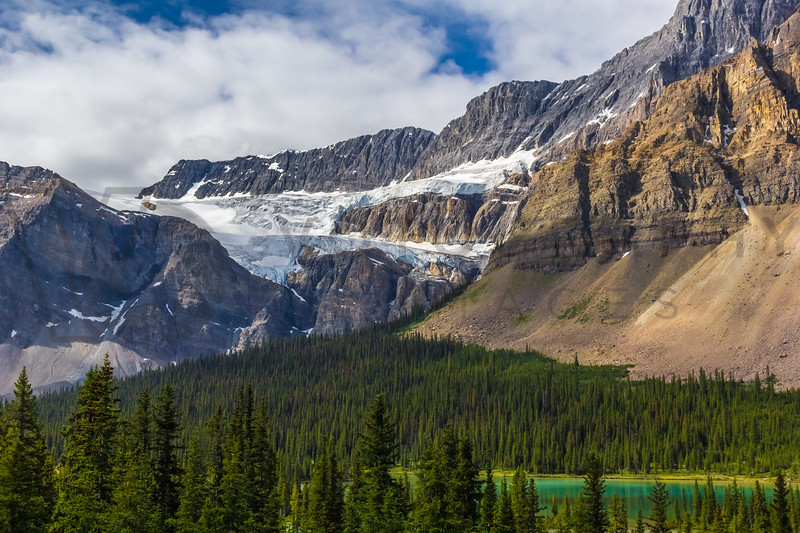 Canadian Rockies, Icefields Parkway, Alberta, Canada
