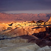 Sunrise in Zabriskie Point, California