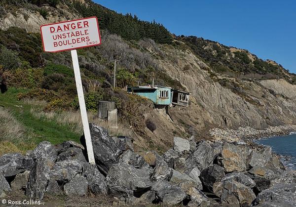 Cape Palliser Road, South Wairarapa, 28 August 2016