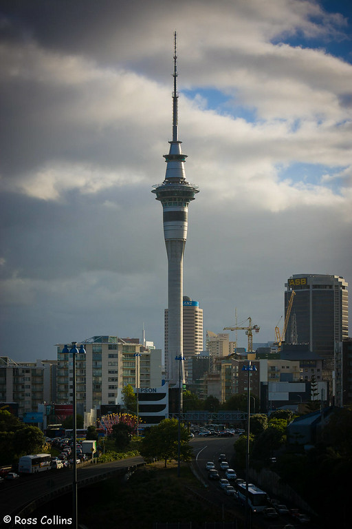 Downtown Auckland, March 2008