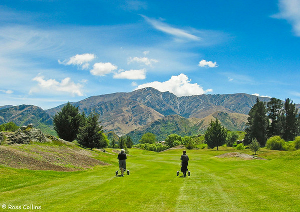 Arrowtown golf course, Central Otago