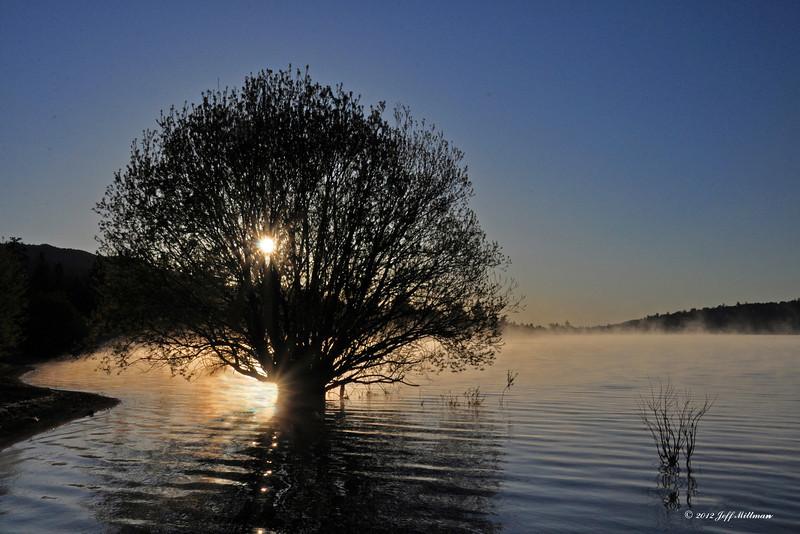 Big Bear Lake Sunrise 12 x 18