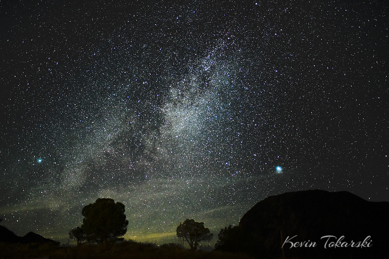 Stars Over Chisos Mountains