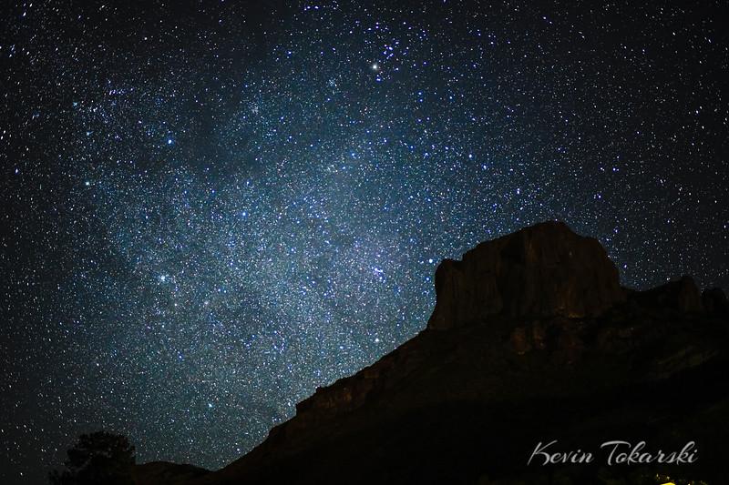 Stars Over Casa Grande Mountain