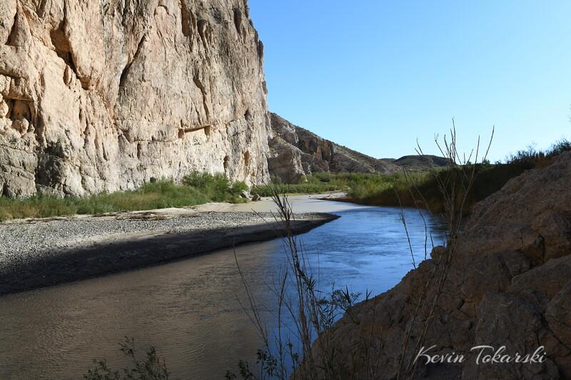 Rio Grande River at Boquillas Canyon