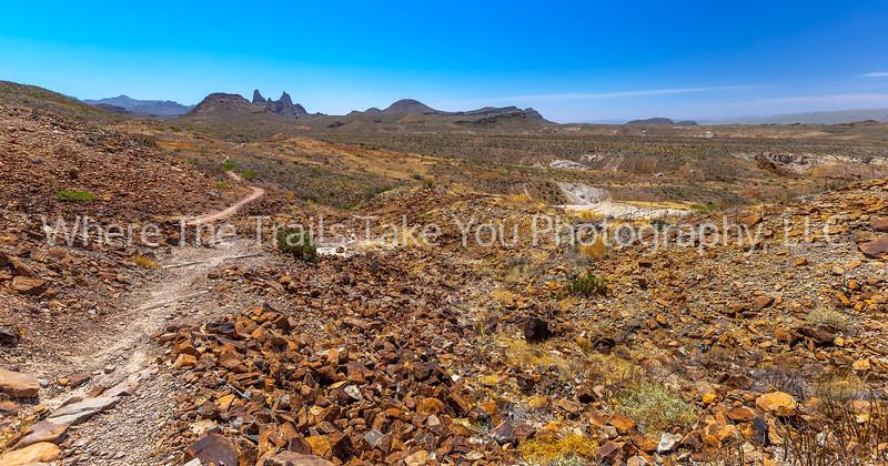 75.  The Hot, Dry Trail to Mule Ears Peak