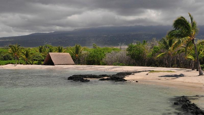 Ai'opio Beach, Kaloko-Honokohau National Historical Park, North Kona, Big Island, Hawaii
