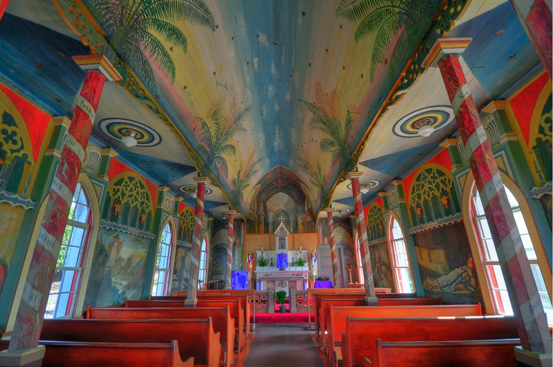Painted Church, South Kona, Hawaii