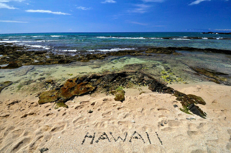 Mahai'ula Beach. Kona Coast State Park<br /> a.k.a. Kekaha Kai, North Kona, Big Island, Hawaii