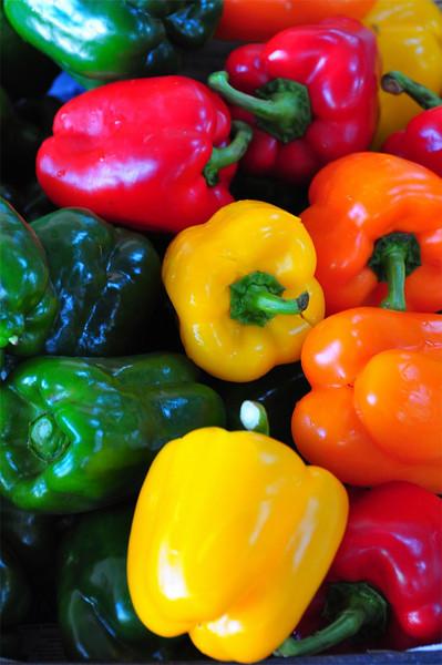 Peppers, Farmers Market, Kailua-Kona, Big Island, Hawaii