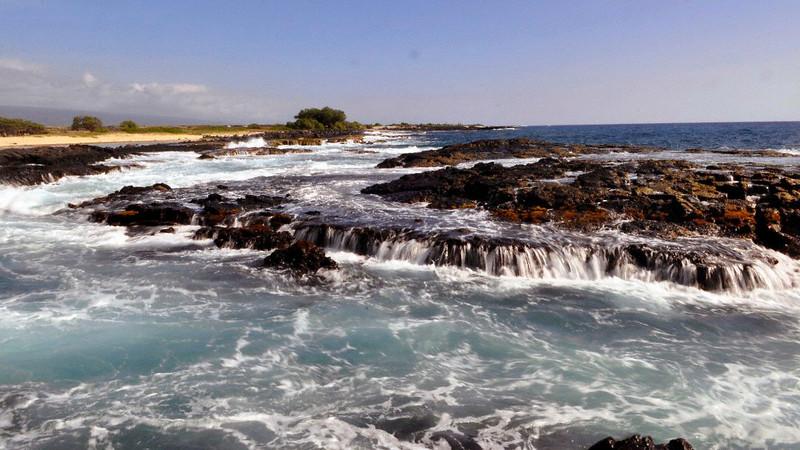 Wawaloli Beach Park, North Kona, Big Island, Hawaii