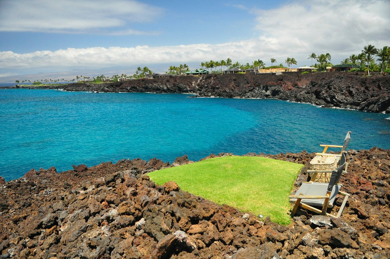 Honokaope Bay, 49 Black Sand Beach, Mauna Lani, South Kohala, Hawaii