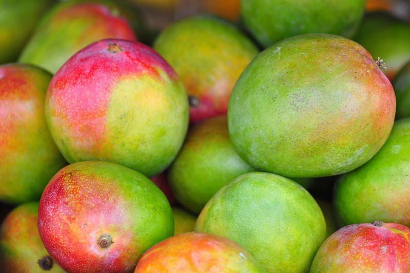Mangos, Farmers Market, Kailua-Kona, Big Island, Hawaii