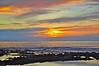 Keauhou Sunset, Kona Coast, Big Island, Hawaii.