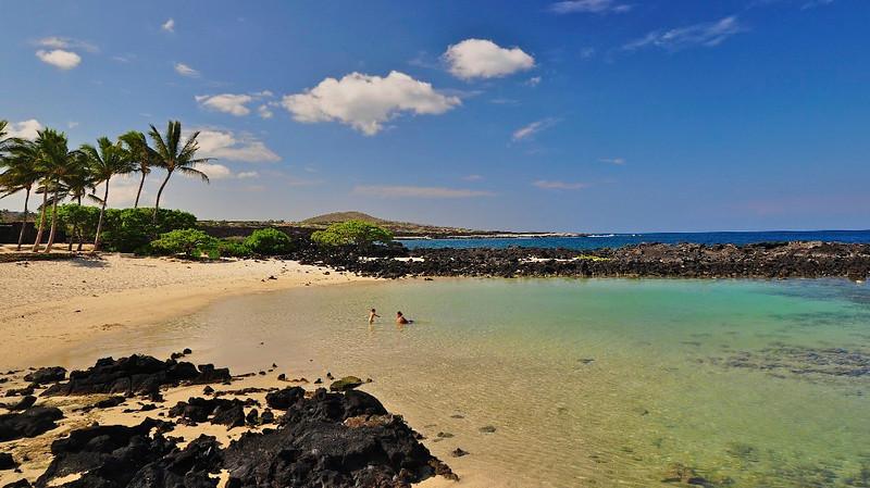 Kikaua Point Beach, North Kona, Big Island, Hawaii