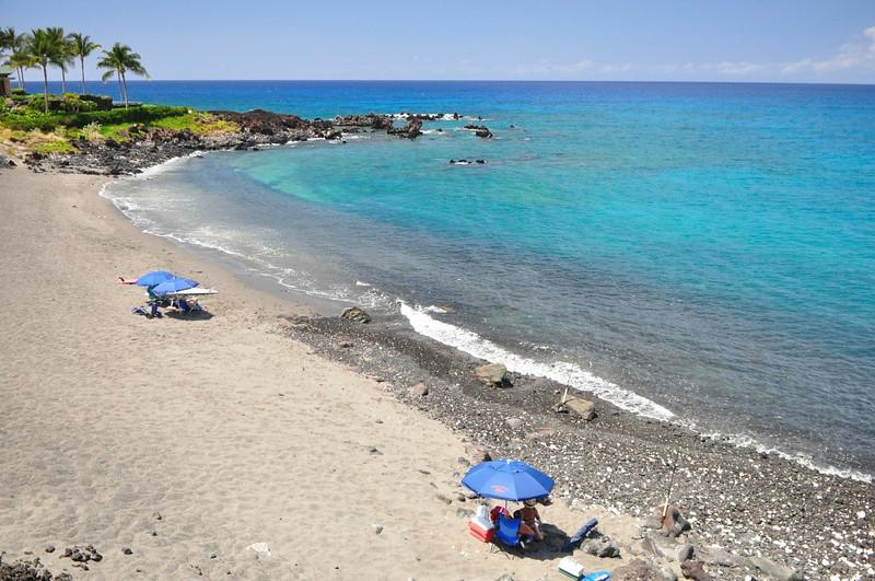 Honokaope Bay, 49 Black Sand Breach, Mauna Lani, South Kohala, Hawaii