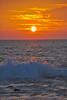 Pahoehoe Beach Park Sunset, Kona Coast, Big Island, Hawaii.