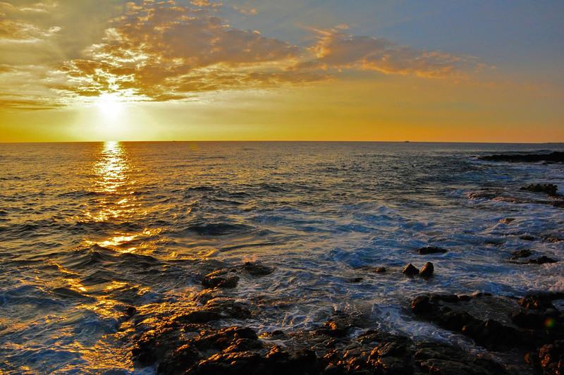 Kailua Bay Sunset, North Kona, Big Island, Hawaii