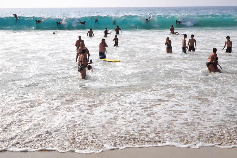 White Sands Beach Park (Magic Sands / Disappearing Sands), Kailua-Kona, Big Island, Hawaii