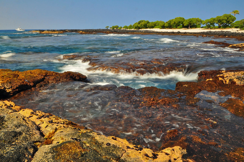 Koloko, Pine Trees Beach, O'oma, Big Island, Hawaii
