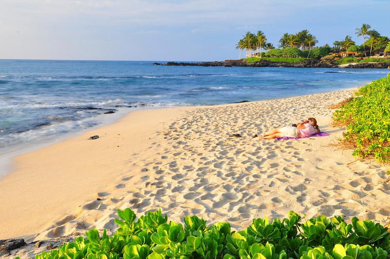 Kukio Beach, North Kona, Big Island, Hawaii