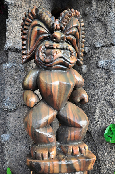 Tiki, Royal Kona Resort, Kailua-Kona, Big Island, Hawaii
