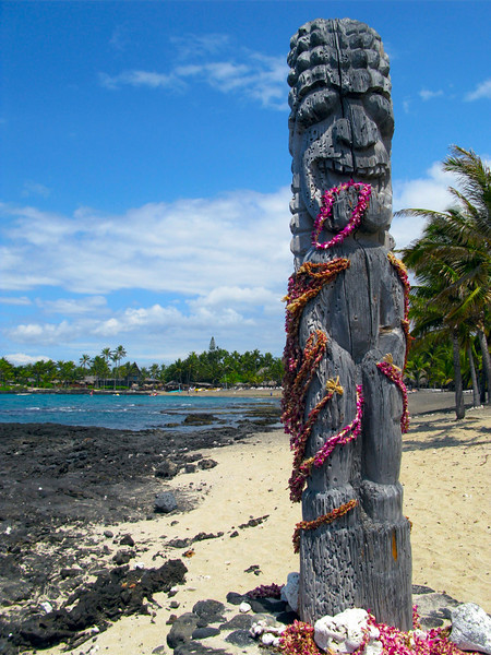 Tiki, Kona Village, North Kona, Big Island, Hawaii