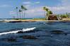 Makaiwa Bay, Mauna Lani, South Kohala, Big Island, Hawaii