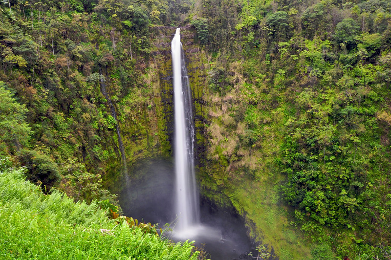 Akaka Falls, South Hilo, Big Island, Hawaii