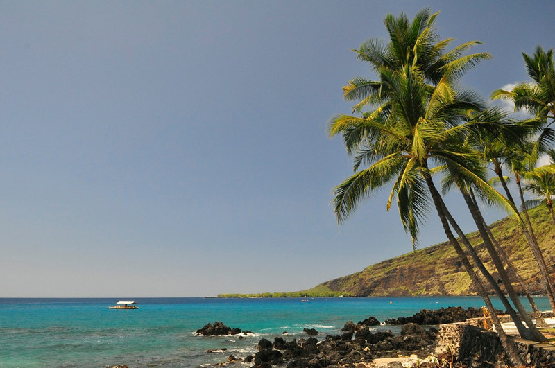 Napo'opo'o, Kealakekua Bay, South Kona, Big Island, Hawaii