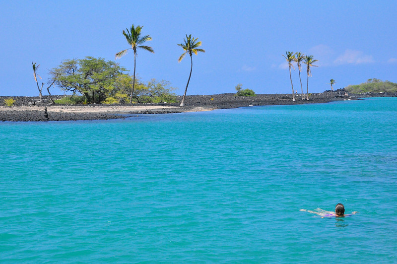 Kiholo Lagoon, South Kohala, Big Island, Hawaii