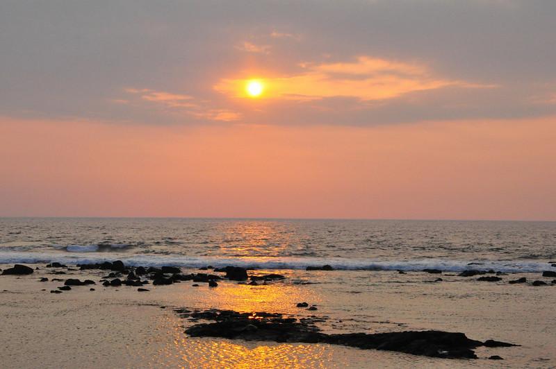 Keauhou Sunset, Kona Coast, Big Island, Hawaii