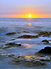 Sunset, Holualoa Bay, North Kona, Big Island, Hawaii