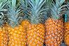 Pineapples, Farmers Market, Kailua-Kona, Big Island, Hawaii
