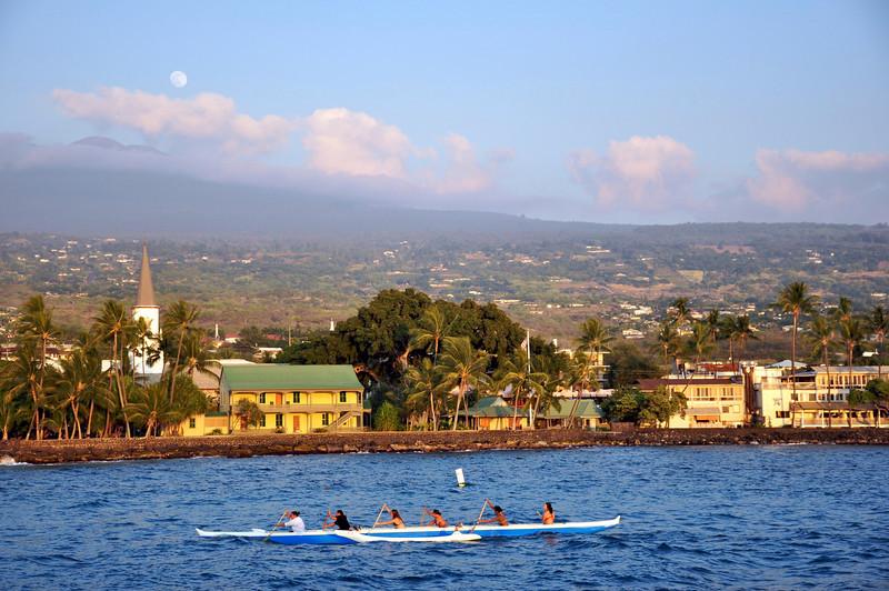 Kailua Town, North Kona, Hawaii