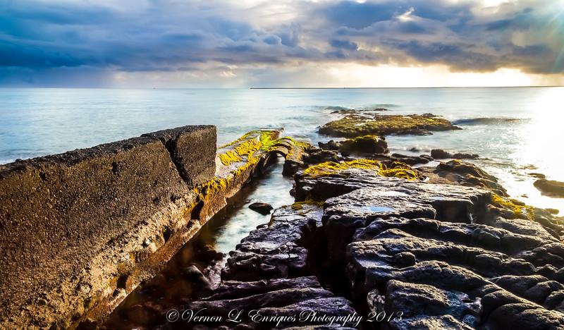 Bayfront Hilo Hawaii Sunrise  8.3.2013
