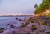 Bay Front / adjacent to Airplane Bridge Hilo Hawaii Sunrise 8.3.13