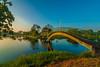 Wailoa State Park Bridge at Sunrise 1.26.14