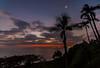 Honoli'i Sunrise 1.26.14 2nd day more clouds