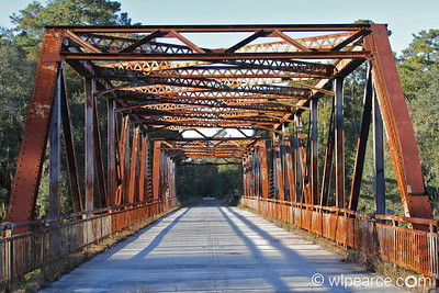 The old U.S.90 bridge.  A peaceful location.  Beautiful views of the rivers. Get notifications via: